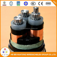 MV underground 33kv xlpe power cable