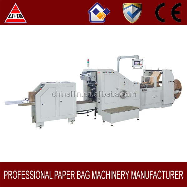 LSB-200 Food Paper Bag Making Machine Price in China