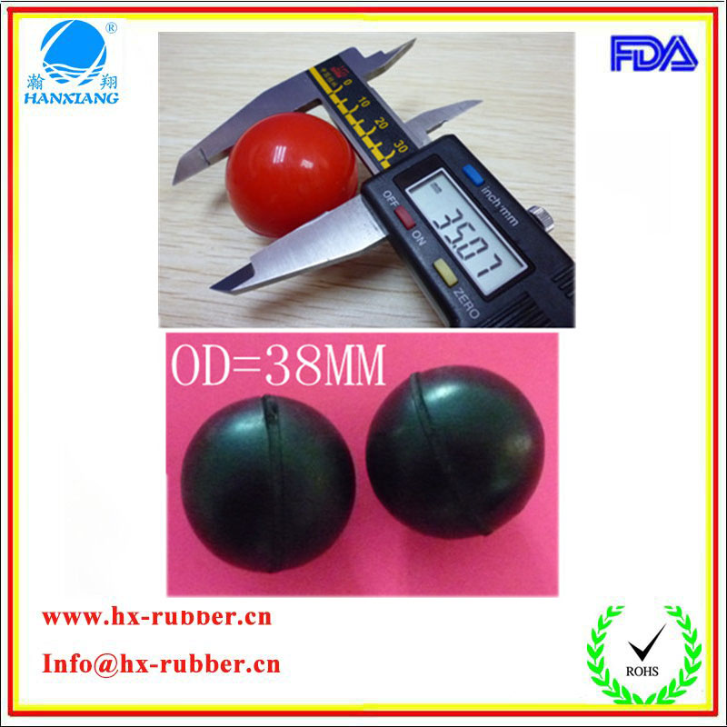 Hot Sale Silicone Rubber Bouncy Ball