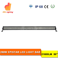 Auto Electrical 50 inch hot sell off road light bar off road high power