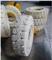 forklift solid tire ,Non-marking forklift tire 6.00-9
