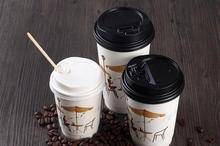 Logo Customized Disposable 6oz coffee paper cups USA popular