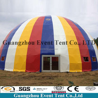 25m PVC fire retardant big dome tent for soccer football fields