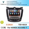 Car DVD for Honda Accord 7 2003-2007 with GPS, bluetooth ,mp3 player (TID-6019)