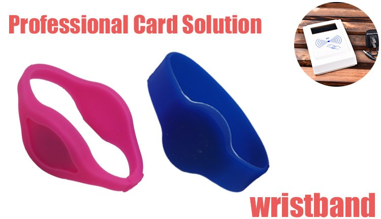 Adjustable Silicone 125khz Rfid Wristband for Identify