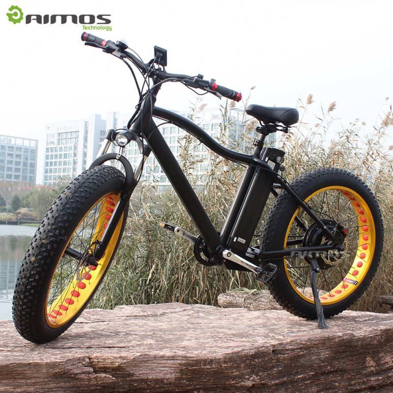 AIMOS CE 26 inch pedal assisted electric bicycle/chopper bike with battery price for man