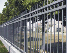 Cheap price used morden wrought iron fencing for sale