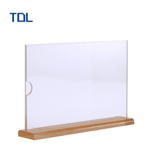 Counter top custom acrylic display case stand rotating with hooks