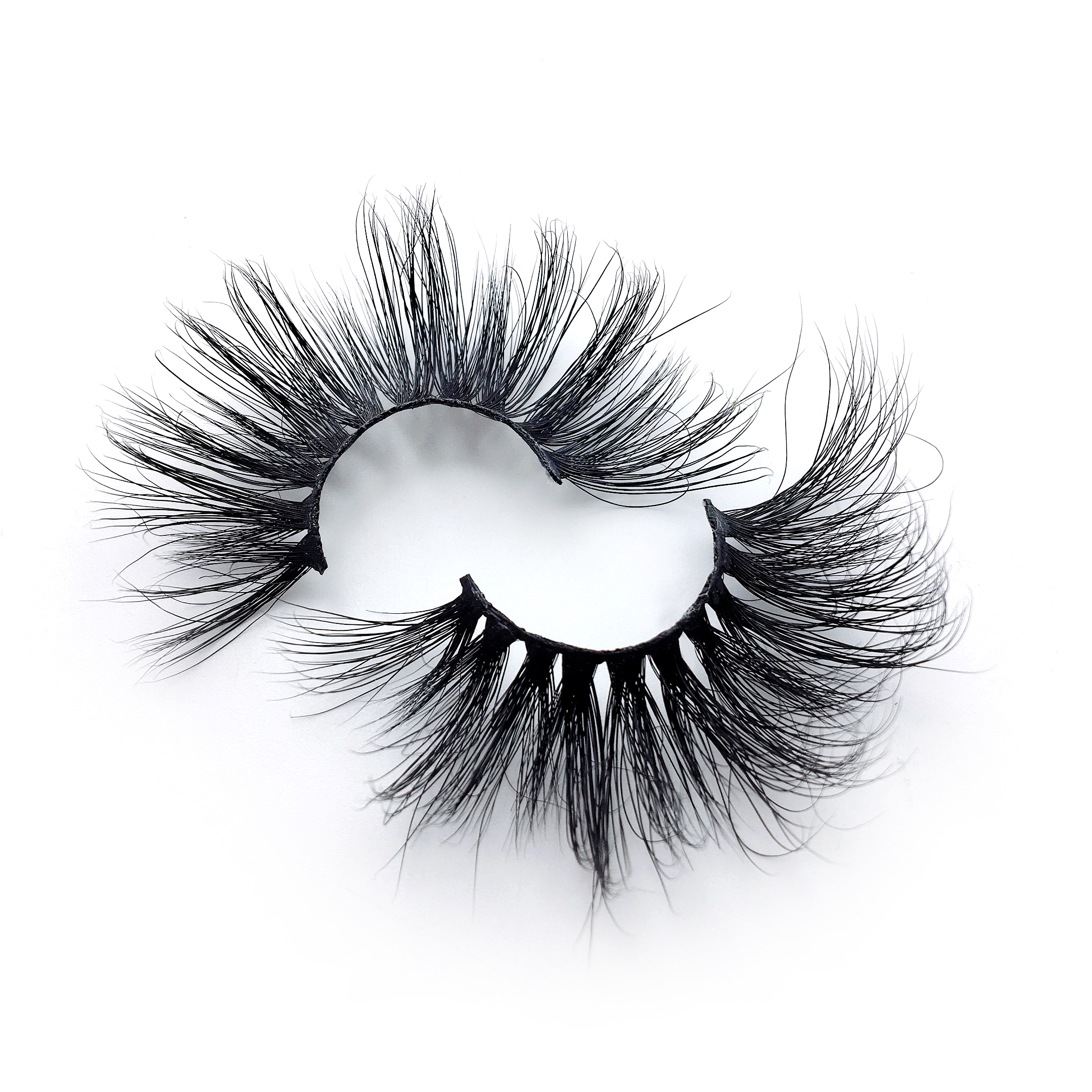 Wholesale customization eshinee mink lashes 27 mm mink lashes 25mm eyelashes 3d With Custom Packaging Your Own Logo Eyelash Box