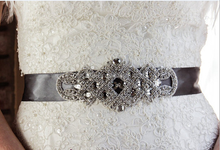 2016 new coming rhinestone applique wedding belts