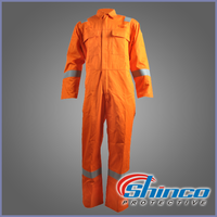 EN 11612 260g cotton fire retardant roupa