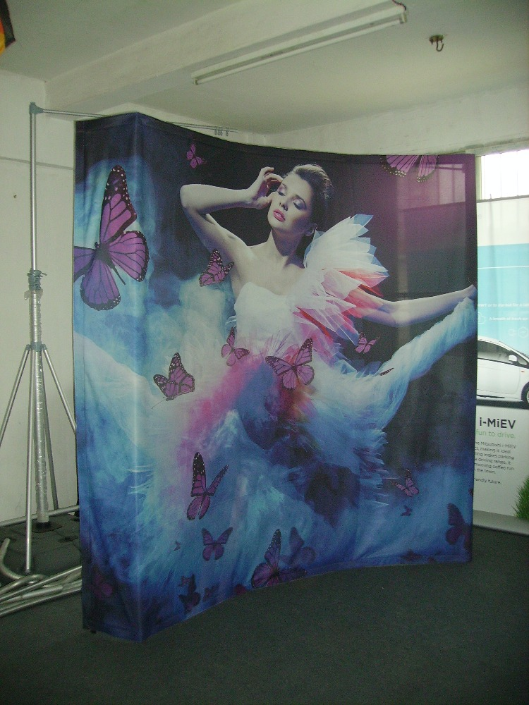 Fabric and pp pop up wall <strong>display</strong> for trade show <strong>display</strong>