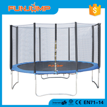 FUNJUMP 2016 CE GS short pole outside enclosure certificate13ft adult aldi trampoline