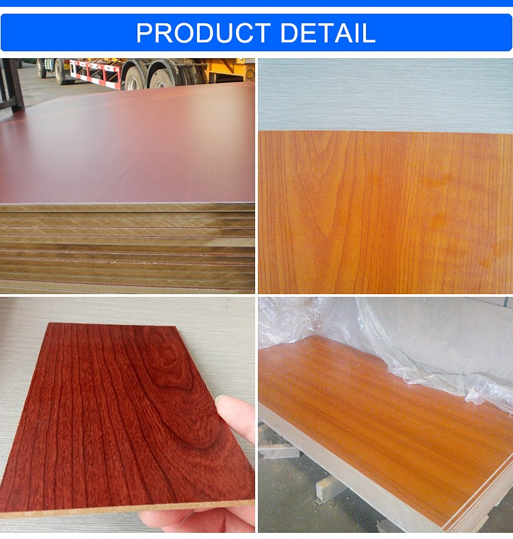 China hot sale 25MM melamine MDF