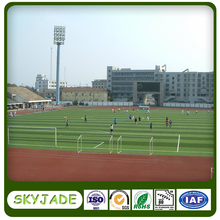Safe environment friendly green artificial grass for school football field