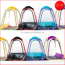 Hot sale new PVC 1 person outdoor cabana tent spectator tent fishing tent