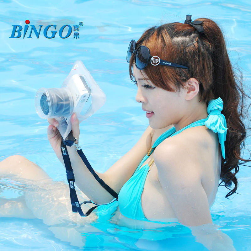 Bingo UNDERWATER CASE HOUSING Waterproof Bag for DSLR Camera