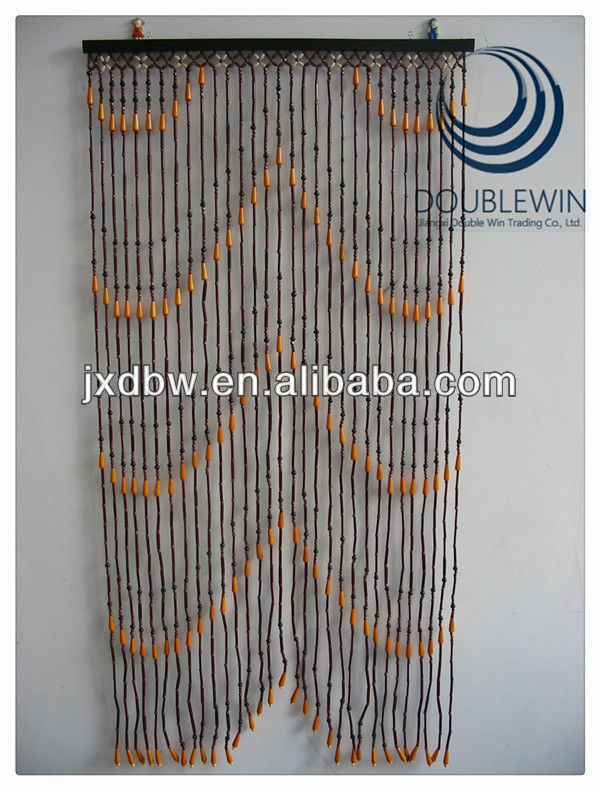 Bamboo Bead Curtain Diy Window Curtains Drapes