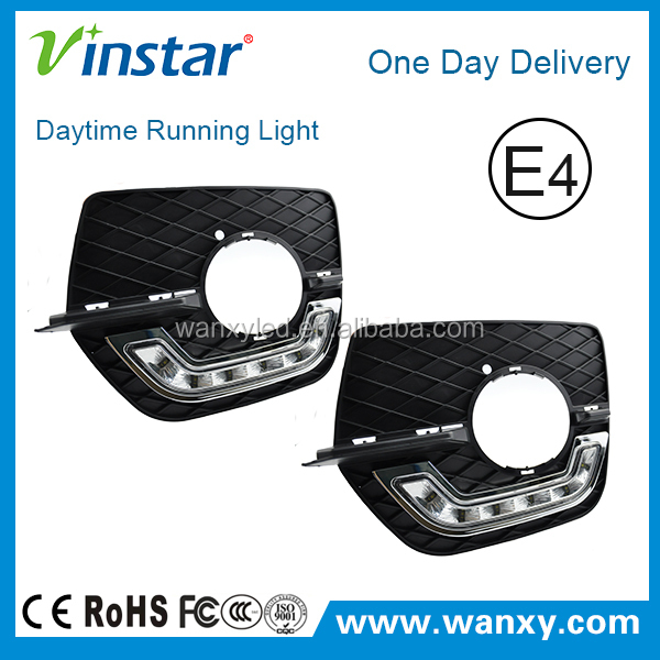 Racing car drl BW X6 Emark energy saving led daytime running lights