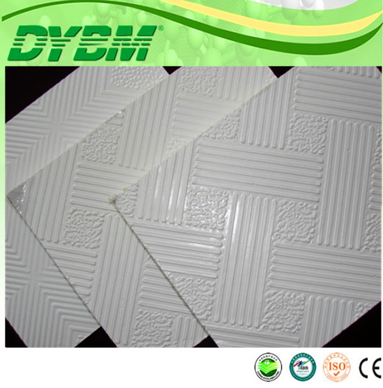 Ceiling plastic tiles
