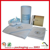 Wholesale high quality custom children clothing paper package tube