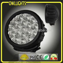 New Version! 90W Led Truck Light,Led Driving Lights for car vehicles 4x4 accessories, led spot light for off road 4WD