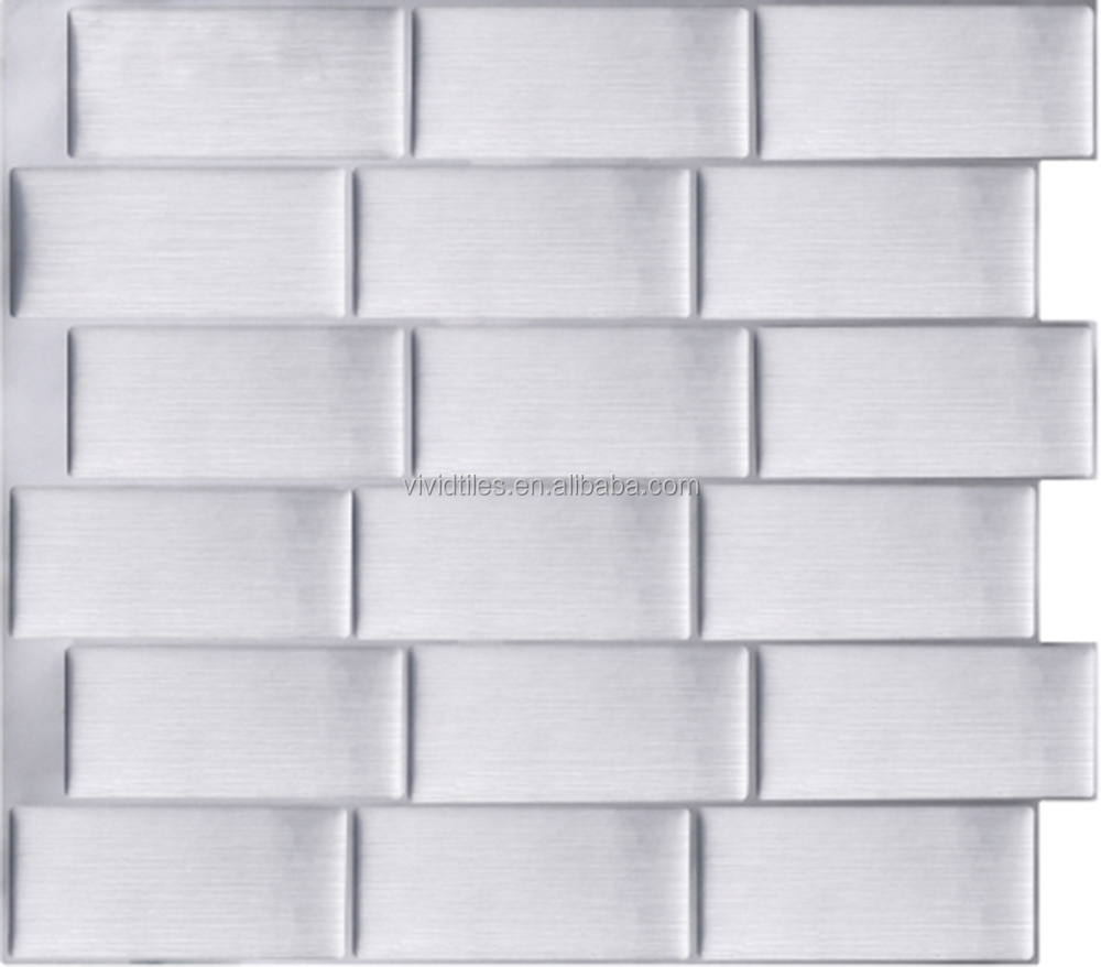 Wall Designs With 3d Wall Panels For Living Room / Bedroom Decoration White  Brick Wallpaper/sticker - Buy Wall Designs With 3d Wall Panels,Wall Panels  ...
