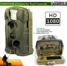 12MP HD 1080P Video Trail Camera HT-002, Can Take Picture And Video, With LCD Display For Menu And Playback