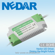 IP20 600mA 25w constant current led driver meanwell