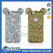 bling golden silver case for LG G3 phone case electroplating cover