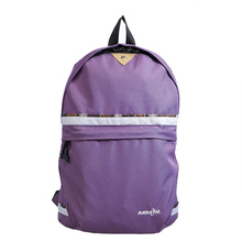 Fashionable Polyester Backpacks for College and Popular Korean Junior Shoulders Bag with Promotion