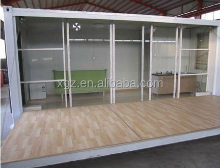 China sandwich panel house 20FT container house container living homes