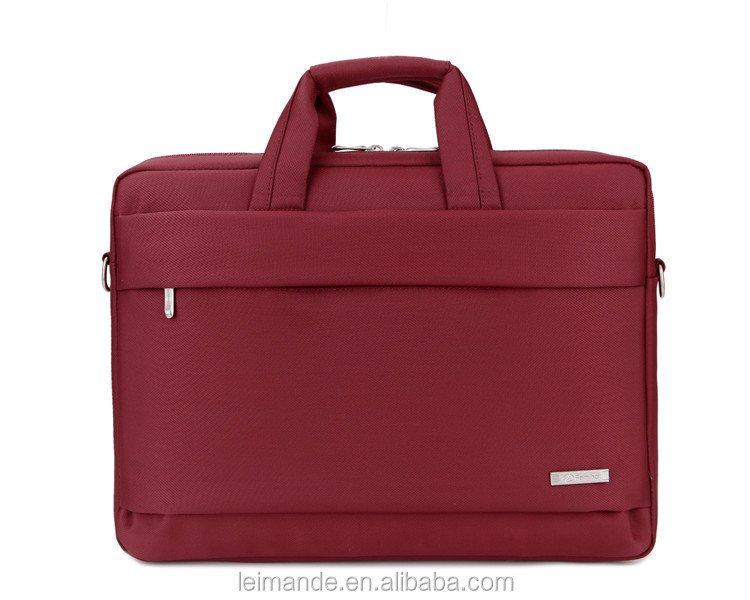 fancy soft felt luggage laptop bag with neoprene materials