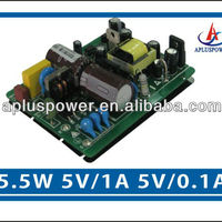 5 5W Dual Output Electric Protection