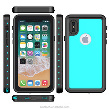 For iPhone X IP68 Waterproof Case, Wireless Charging Face ID Compatible Protective Case Cover for iPhone X / iPhone 10