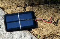 Epoxy laminated portable solar panel,module for solar toys