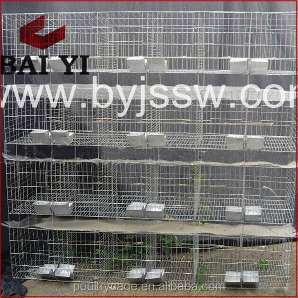 Foldable Heavy Rabbit Kennels/Hutches With High Quality And Low Price