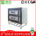 Shentop STPAB-D24 2 layers and 4 trays used bread bakery equipment price in China electric oven
