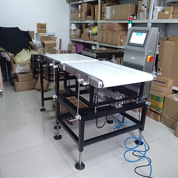 In motion checkweigher fast speed high accuracy heavy duty check weigher weight checking machine system