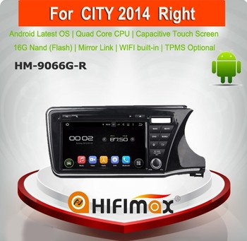 Hifimax Android 5.1.1 car dvd audio navigation system FOR Honda New City (right hand drive)