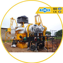 20t/h small Mobile batch Asphalt Plant for Sale with asphalt mixer