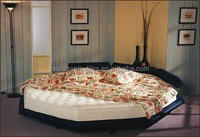 waterbed-Soft side Octagonal Waterbed mattress