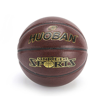 customized leather ball for basketball rim