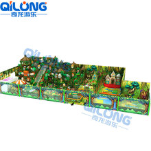 No.1 indoor playground supplier in Alibaba,Jungle theme commercial kids indoor jungle gym for sales