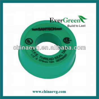 100% PTFE Tape for Pipe fittings