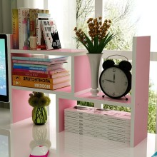 Customized 3 Layer Wall Mounted Bookcase Furniture For Living Room