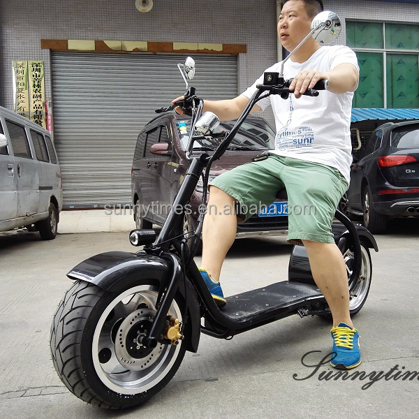 Sunnytimes 60V/1500W harley Electric Motorbike For Adults With Brake Function
