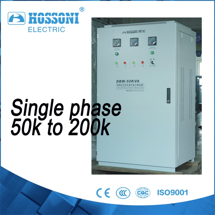 single phase Regulator(AVR,stabilizer) 120kva DBW