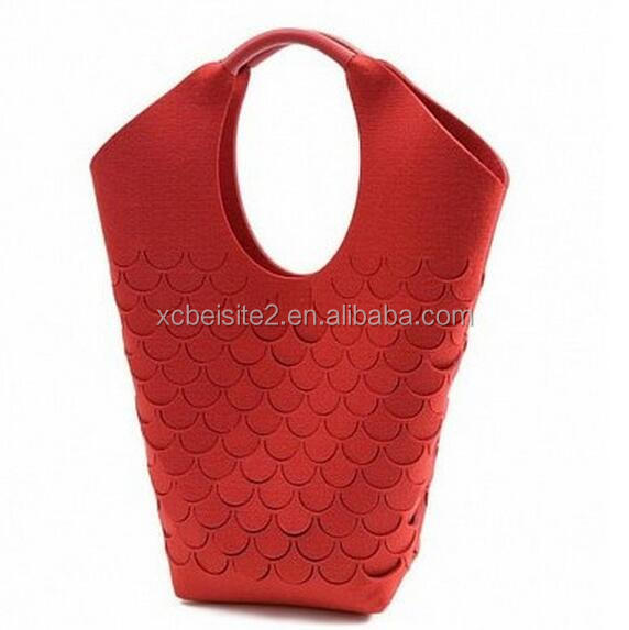 OEM Felt laundry bag ,standable hot sale felt laundry handbags