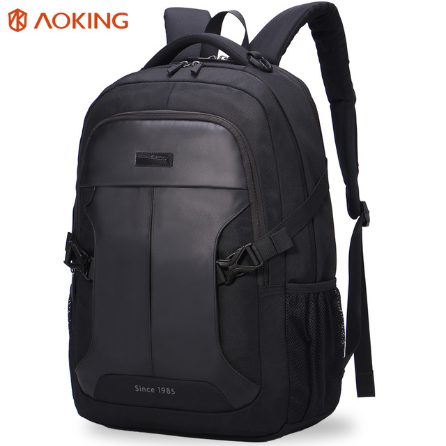 Aoking 2016 backpack New Patent Design Massage Air Cushion Men s Laptop  Backpack Men Large Capacity Comfort Backpacks 6cbc4adfab